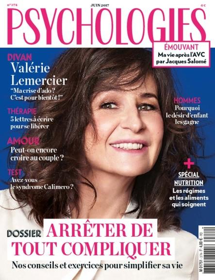 Psychologies Magazine - Juin 2017