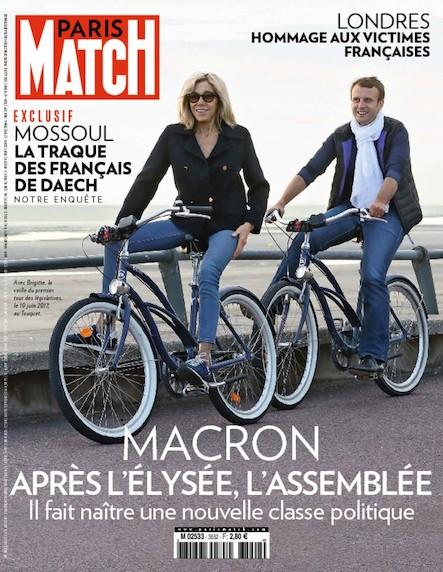 Paris Match N°3552 Juin 2017