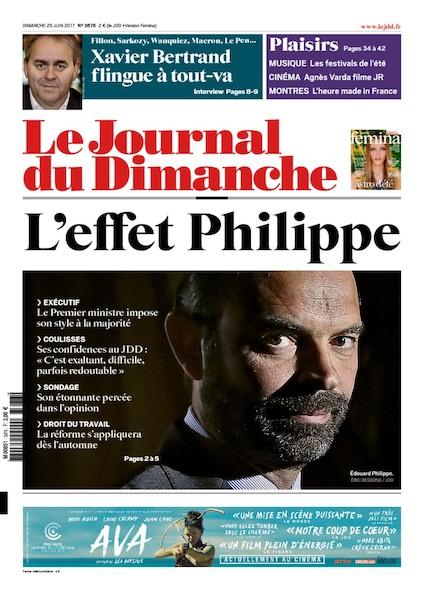 Journal Du Dimanche - 25 Juin 2017