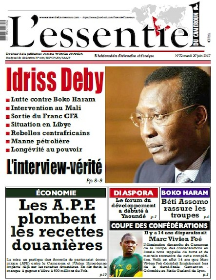 L'essentiel du Cameroun - Numéro 072