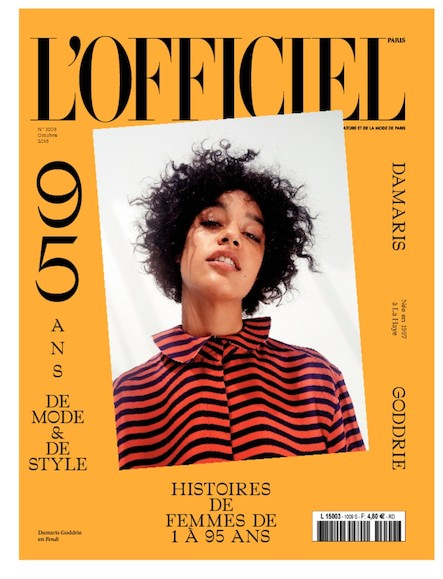 L'Officiel Mode et Couture - N°1009 - Septembre 2016