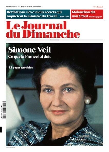 Journal Du Dimanche - 2 Juillet 2017