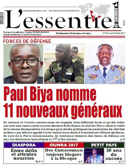 L'essentiel du Cameroun - Numéro 074