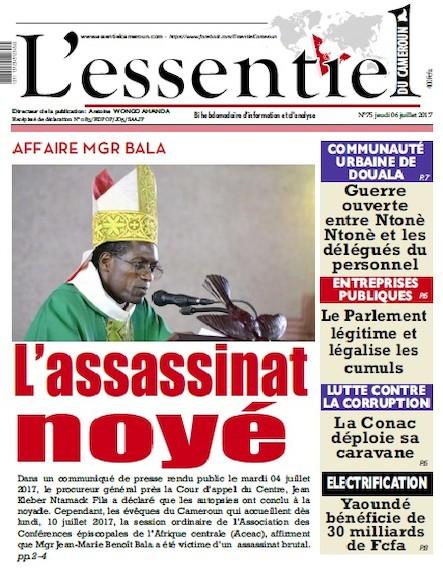 L'essentiel du Cameroun - Numéro 075