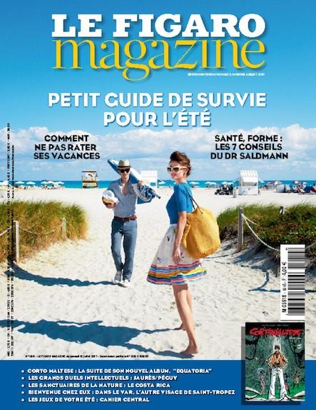 Le Figaro Magazine - Juillet 2017 : Petit guide de survie pour l'été