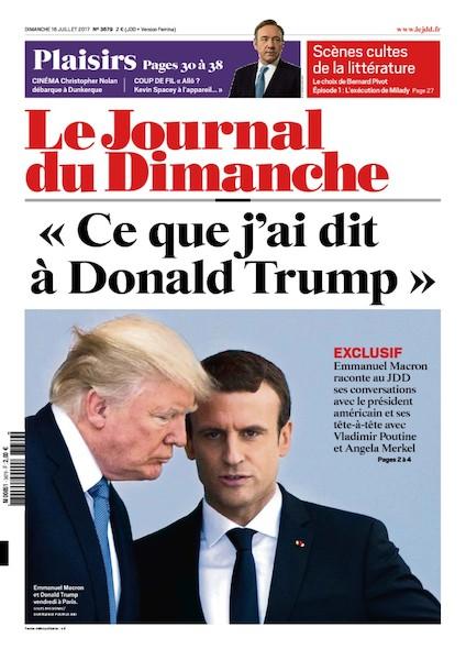 Journal Du Dimanche - 16 Juillet 2017