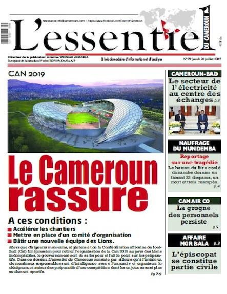 L'essentiel du Cameroun - Numéro 079