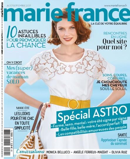 Marie France - Août/Septembre 2017