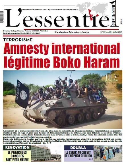 L'essentiel du Cameroun - Numéro 080