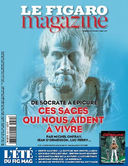 Le Figaro Magazine - Juillet 2017 : Ces sages qui nous aident à vivre