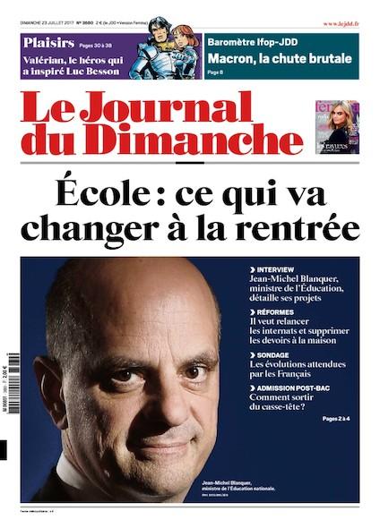 Journal Du Dimanche - 23 Juillet 2017