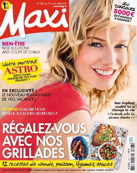 Maxi | Juillet 2017 | N°1603