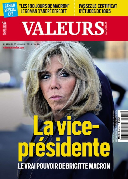 Valeurs Actuelles - Juillet 2017 - La vice-présidente