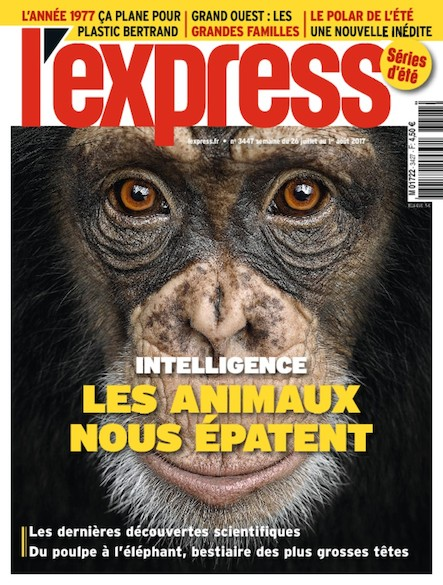 L'Express - Juillet 2017 - Les animaux nous épatent