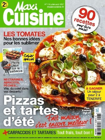 Maxi Cuisine   Juillet 2017   N°118
