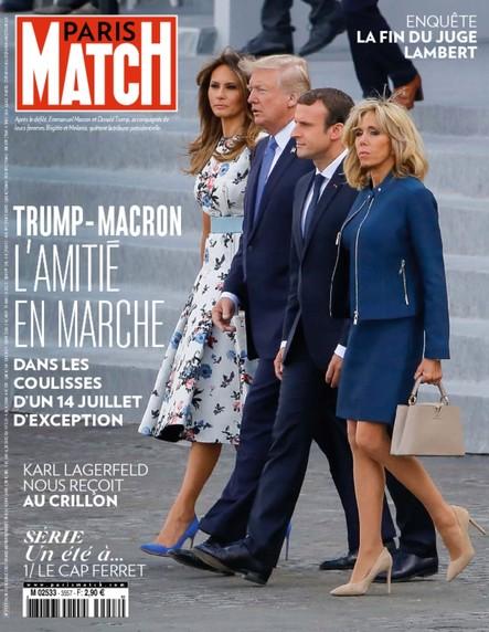 Paris Match N°3557 Juillet 2017