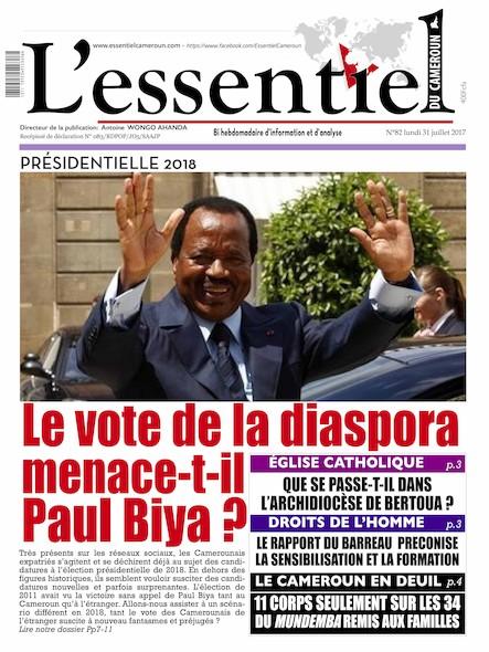 L'essentiel du Cameroun - Numéro 082