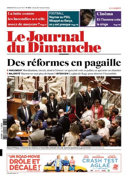 Journal Du Dimanche - 30 Juillet 2017