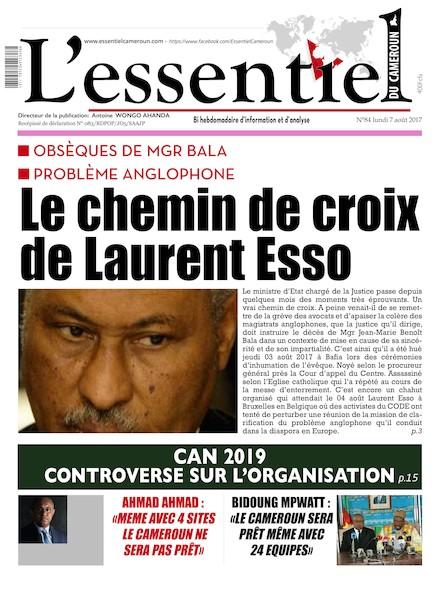 L'essentiel du Cameroun - Numéro 084