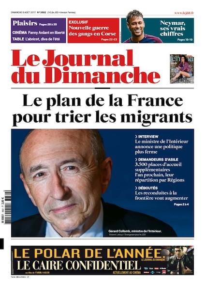Journal Du Dimanche - 6 Août 2017