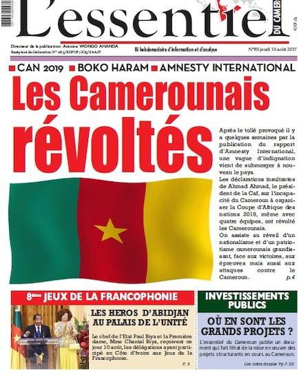 L'essentiel du Cameroun - Numéro 085