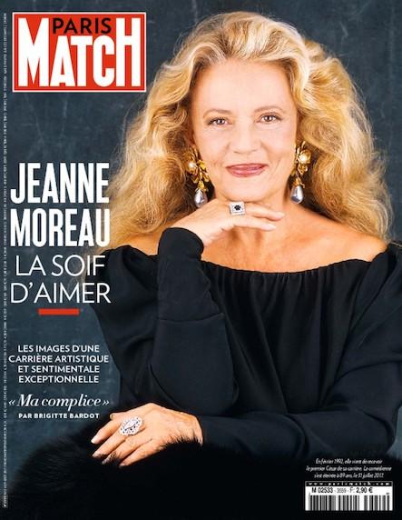 Paris Match N°3559 Août 2017