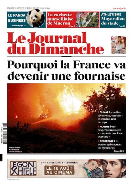 Journal Du Dimanche - 13 Août 2017