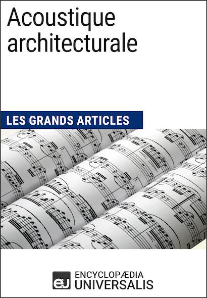 Acoustique architecturale