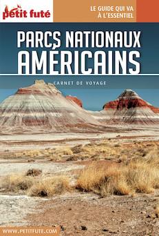 Parcs Américains 2017 Carnet Petit Futé | Dominique Auzias
