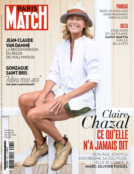 Paris Match N°3560 Août 2017