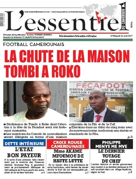 L'essentiel du Cameroun - Numéro 088
