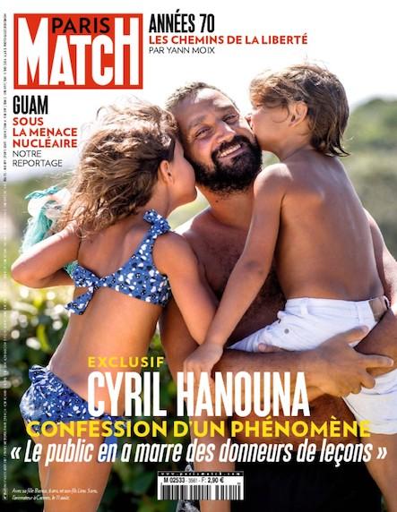 Paris Match N°3561 Août 2017