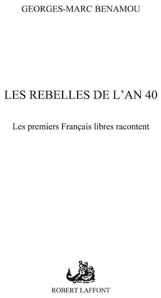 Les rebelles de l'an 40