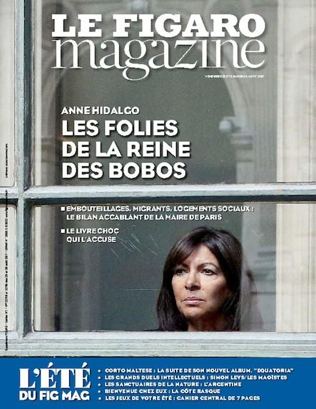 Le Figaro Magazine - Août 2017 : Les folies de la reine des bobos
