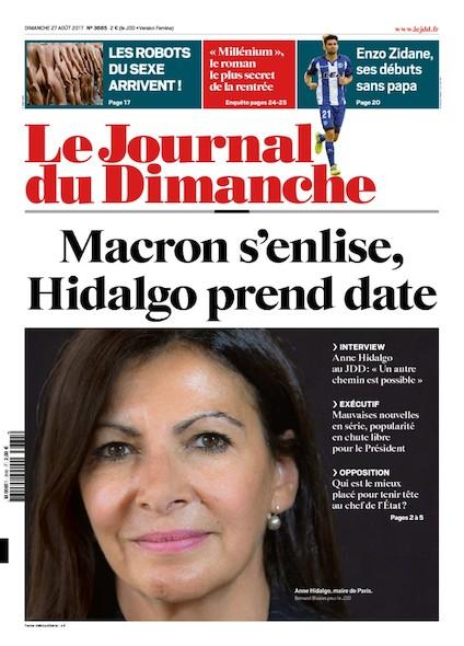 Journal Du Dimanche - 27 Août 2017
