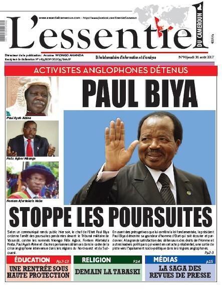 L'essentiel du Cameroun - Numéro 090