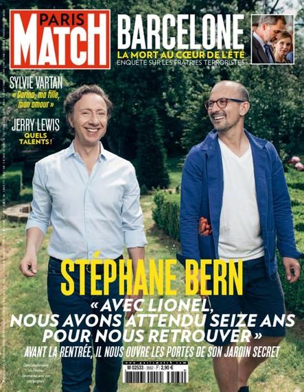 Paris Match N°3562 Août 2017