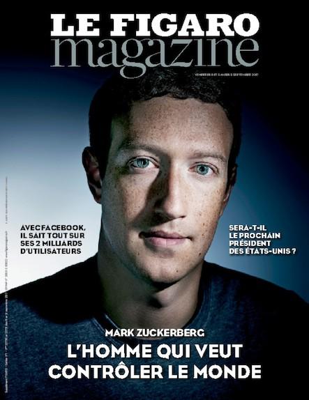 Le Figaro Magazine - Septembre 2017 : L'homme qui veut contrôler le monde