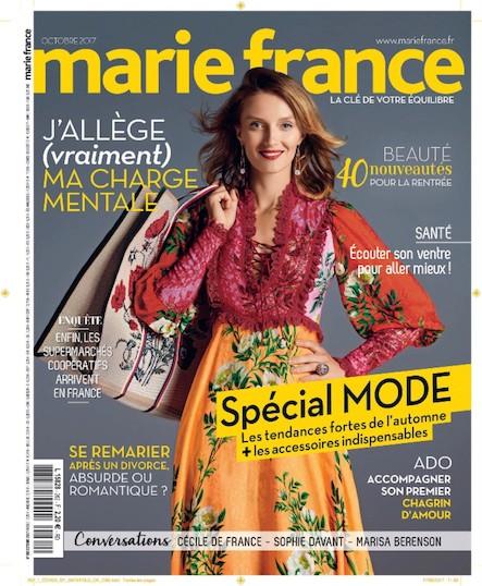 Marie France - Octobre 2017