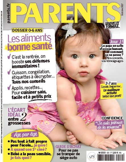 Parents - Octobre 2017 - N°572