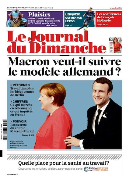 Journal Du Dimanche - 17 Septembre 2017