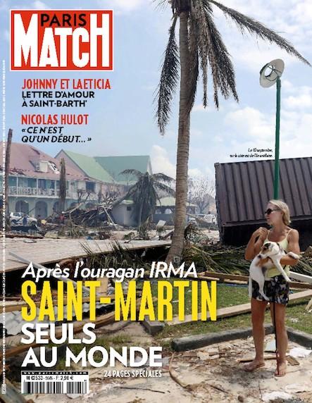 Paris Match N°3565 Août 2017