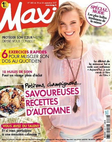 Maxi   Septembre 2017   N°1612