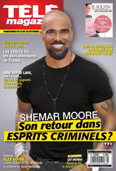 Télé magazine - 25/29 Septembre 2017