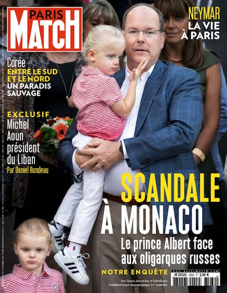 Paris Match N°3566 Septembre 2017