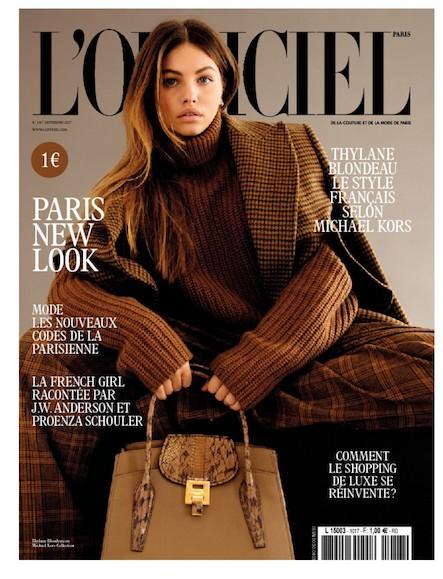L'Officiel Mode et Couture - N°1017 - Septembre 2017