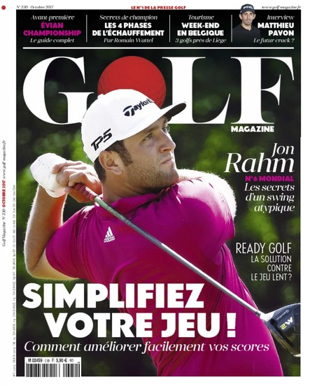 Golf Magazine - Octobre 2017