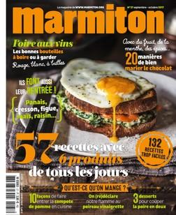 Marmiton - Septembre / Octobre 2017 |