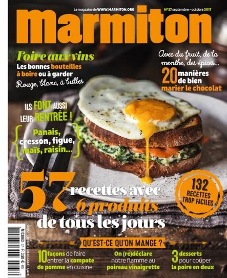 Marmiton - Septembre / Octobre 2017