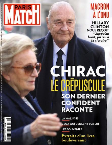 Paris Match N°3567 Septembre 2017